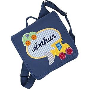 crepes suzette Kindergartentasche, Kindergartenrucksack, Tasche mit Namen, Kindergartentasche mit Namen, Namenstasche