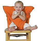 Millya. Arnés de asiento para bebé portátil, para viajes naranja naranja Talla:0-12 months