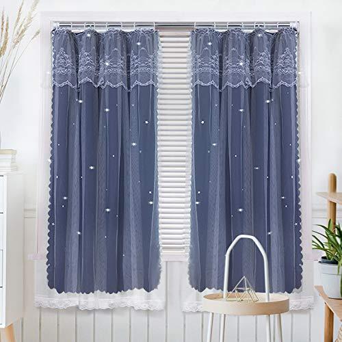 Bolo Panel de cortina de tul transparente, 1,8 x 2,0 m