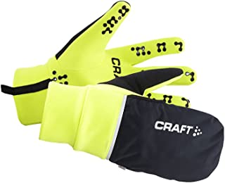 Craft Hybrid Weather 2-in-1 Bike Cycling Mitten Gloves, X-Large, Flumino
