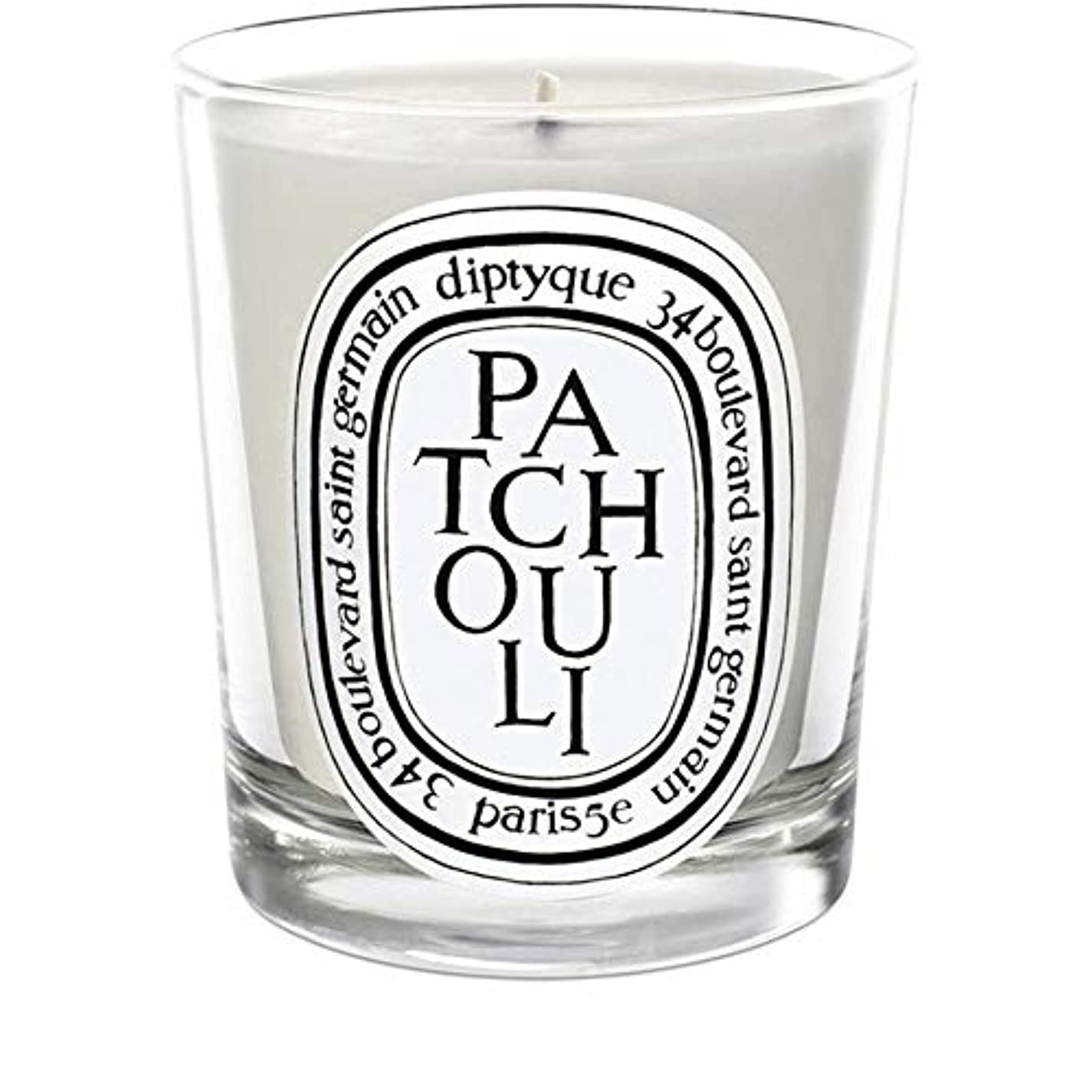 空中問い合わせるセラフ[Diptyque] Diptyqueのパチョリミニ香りのキャンドル70グラム - Diptyque Patchouli Mini Scented Candle 70g [並行輸入品]