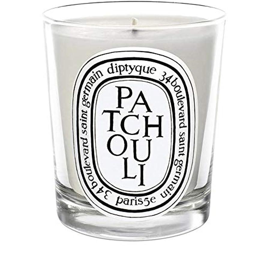 組み立てるキリマンジャロスロー[Diptyque] Diptyqueのパチョリミニ香りのキャンドル70グラム - Diptyque Patchouli Mini Scented Candle 70g [並行輸入品]