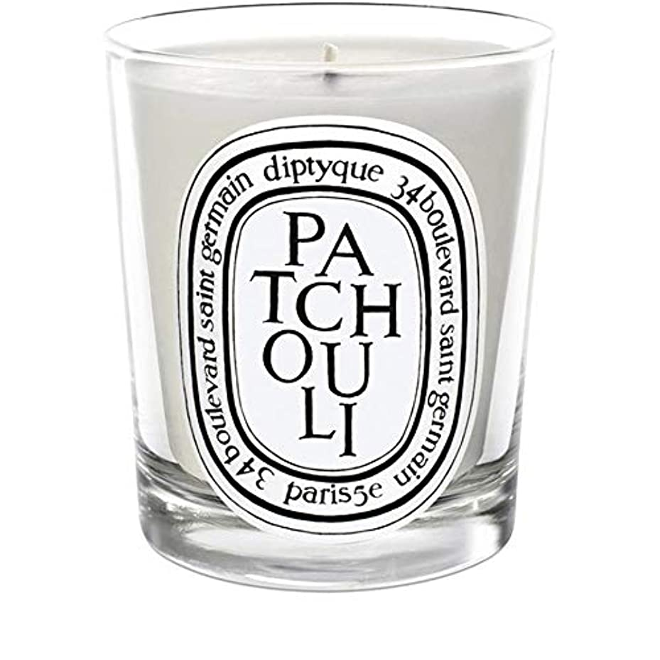 [Diptyque] Diptyqueのパチョリミニ香りのキャンドル70グラム - Diptyque Patchouli Mini Scented Candle 70g [並行輸入品]