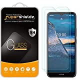 (2 Pack) Supershieldz for Nokia C5 Endi Tempered Glass Screen Protector, Anti Scratch, Bubble Free