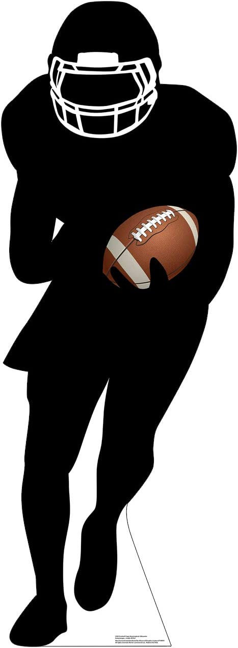 Advanced Graphics Football Player Tampa National products Mall Si Silhouette Runningback Life