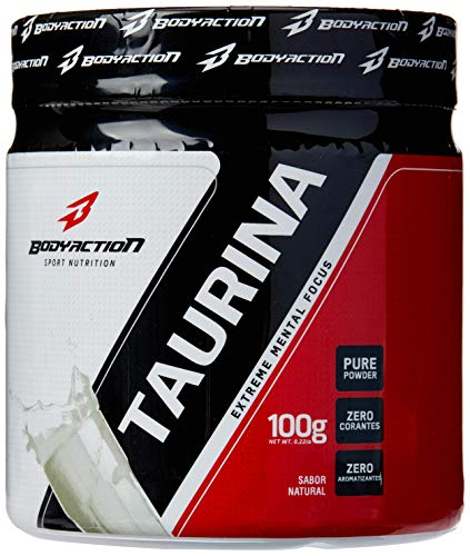 Taurina Natural, Bodyaction, 100g
