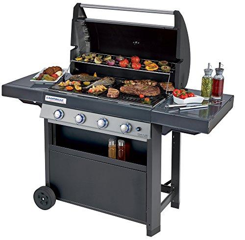 Campingaz Barbecue à Gaz Class 4 LBD, 4 Brûleurs en Inox, Puissance 12.8kW , Système de Nettoyage...