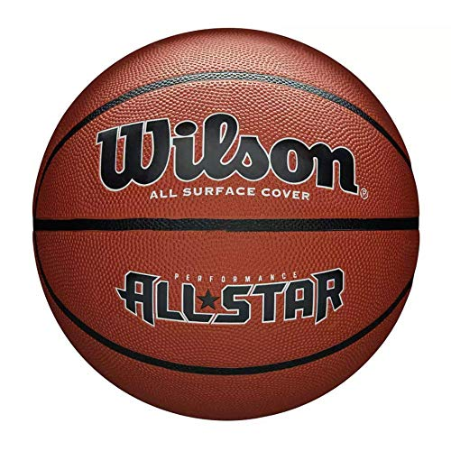 Wilson Performance all Star, Palla Basketball Unisex-Adulto, Marrone, Taglia Unica