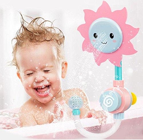 Sonnenblume Baby Bad Spielzeug Wasser Badewanne Dusche Spray Badewanne Fountain Tub Toys Werkzeug für Jungen und Mädchen
