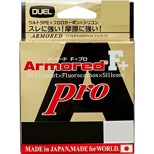 DUEL(デュエル) PEライン 0.6号 アーマード F+ Pro 150M 0.6号 GY ゴールデンイエロー H4082-GY
