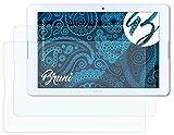 Bruni Schutzfolie kompatibel mit Acer Iconia One 10 B3-A20 Folie, glasklare Bildschirmschutzfolie (2X)