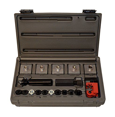 Cal-Van Tools 165 Master Inline Flaring Kit - Double and Single Flares, Brake Flaring Tools. Professional Tool Kit
