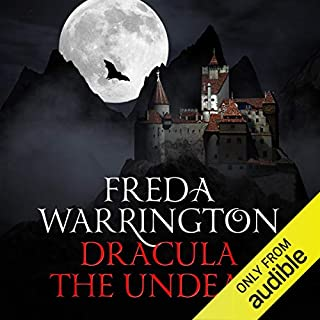 Dracula the Undead audiobook cover art