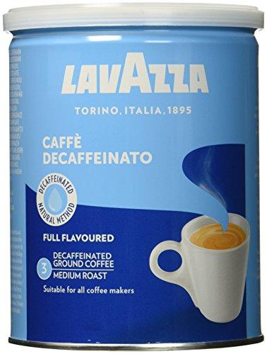 Lavazza Caffé Decaffeinato / Entkoffeiniert, 2er Pack (2 x 250 g Dose)