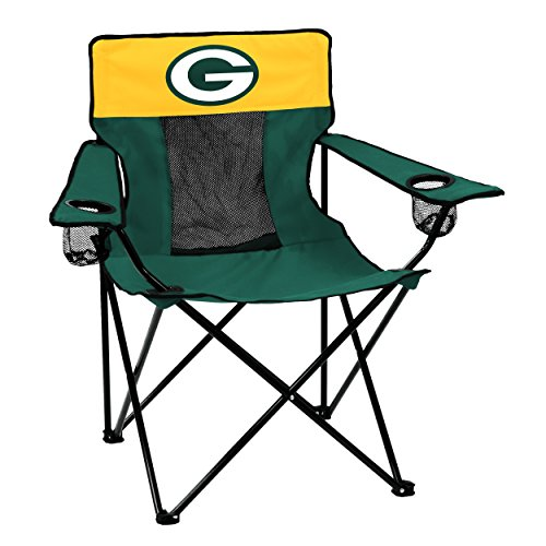 Logo Brands Officially Licensed NFL Green Bay Packers Unisex Elite Chair, One Size, Team Color