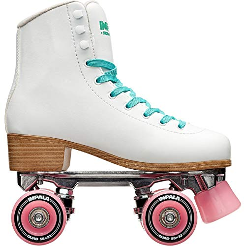 Impala Sidewalk Skates Rollerskates Quad White US 4