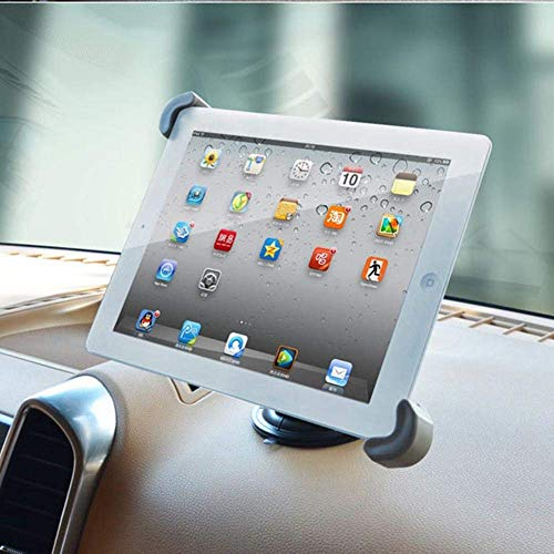 ZHTY Tablet Holder Coche Montaje del reposacabezas: Universal 360 Rotating Car Asiento de Asiento de Cuna para Las tabletas 28.5-34.5 cm Song (Color : Silver, Size : One Size)