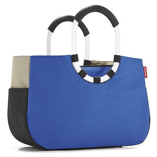 Reisenthel Loopshopper M Sporttasche, Patchwork Royal Blue