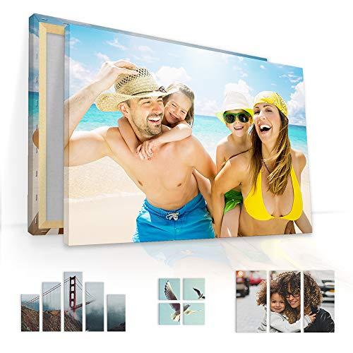 malango Foto-Leinwand | Persönliches Wunsch-Motiv Auf Leinwand | Mit Vorschau | 2 cm Keilrahmen, 1-Teiler, 60 x 40 cm
