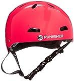 Punisher Skateboards Pro 13-Vent Dual Safety Certified BMX Bike and Skateboard Helmet, Metallic Flake Black, Youth/Teen 9+