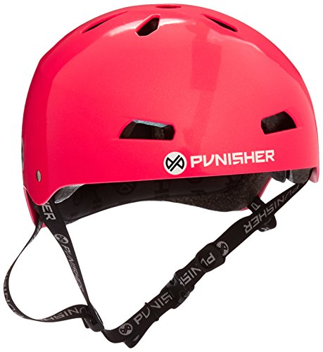 Punisher Skateboards Pro Series 13-Vent Dual Safety Certified BMX Bike and Skateboard Helmet, Youth/Teen 9+