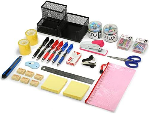 39-Piece Office Supplies Set, Office Stationery...