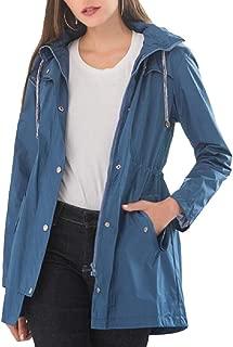 Women Active Lightweight Outwear Hooded Outdoor Jacket Coat