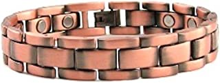 "ProExl Mens Magnetic Copper Power Energy Bracelet 8.5"" Box"
