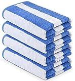 """MIMAATEX Pool/Beach Cabana Towel Set - Pack of 4 Pieces - 30""""x..."""