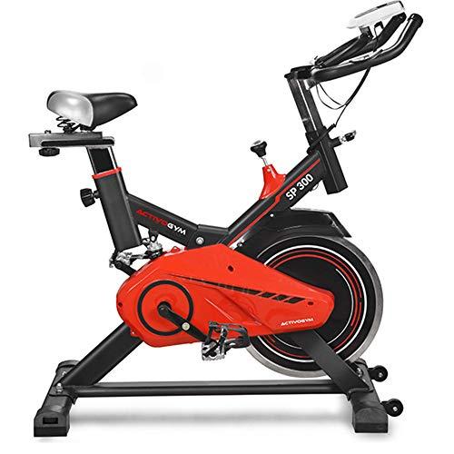 Activogym SP300, Bicicleta Indoor Spinning, Volante de Inercia 13 Kg, Profesional. Marca Española de Calidad