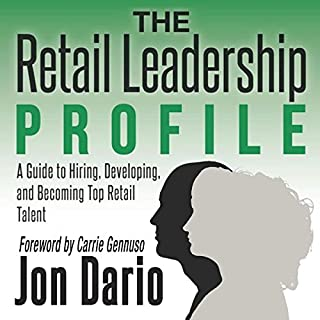 The Retail Leadership Profile audiobook cover art
