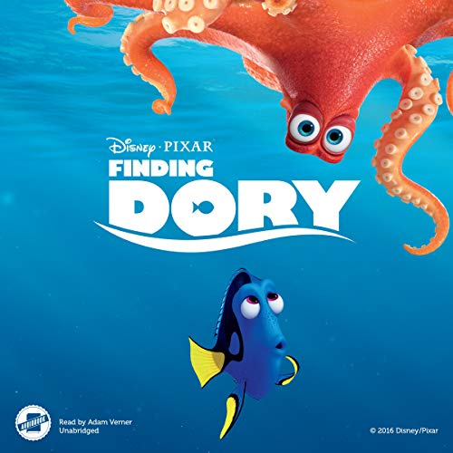 Finding Dory audiobook cover art