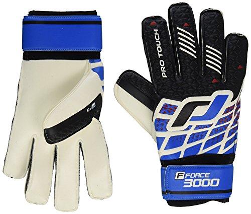 Pro Touch Torwart-Handschuhe Force 3000 FS, Schw/Weiss/Blau/Rot, 9