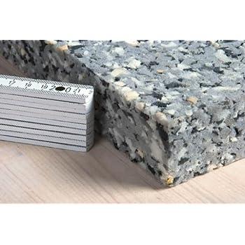 Dibapur platten in ca.100cm x 50cm x 5cm Verbundschaumstoff Brandverhalten flammhemmend nach MVSS302 RG140-2m/² 4st