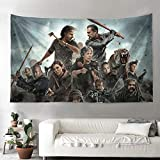 Unicorns Farting Tapestry Wall Hanging Tapestries The-Walking-Dead- Wall Blanket Wall Art for Bedroom (55'x 85')
