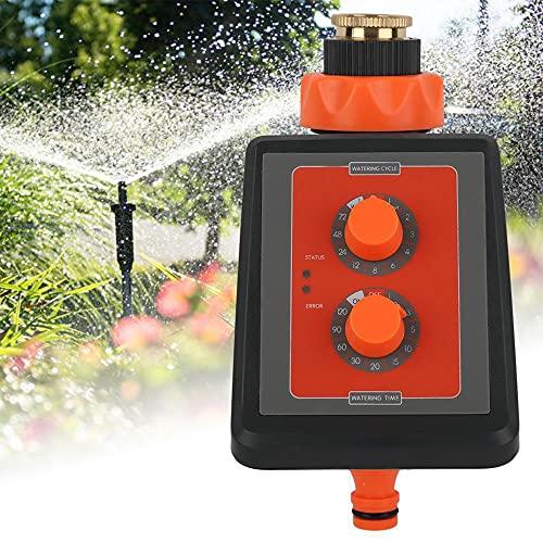 CYzpf Temporizador de Riego Automático Inteligente Programador Jardínistema Control Controlador Aspersores para el Hogar Jardinería Planta Balcón Patio Vegetal,