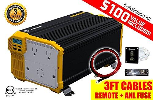 KRIËGER 3000 Watt Power Inverter, (KR4000)