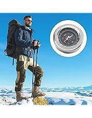 Camping Survival Compass, Orienteering Compass Przenośny kieszonkowy kompas Mini Orienteering Compass Stal nierdzewna 60mm na Camping Piesze wycieczki na zewnątrz