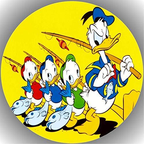 Fondant Tortenaufleger Tortenbild Geburtstag Donald Duck T9