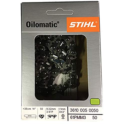 Stihl 61PMM3 50 Genuine OEM OILOMATIC Chain Saw Chain 14
