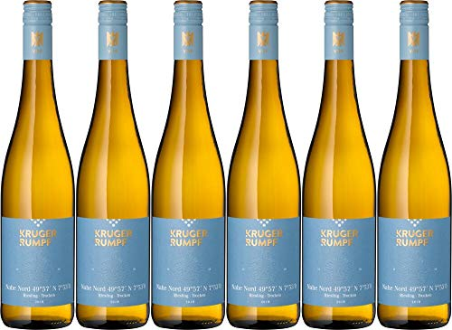 6x Riesling Nahe Nord Ii trocken Kruger-Rumpf 2019 - Weingut Kruger-Rumpf, Nahe - Weißwein