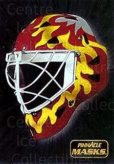 (CI) Mike Vernon Hockey Card 1993-94 Pinnacle Masks 2 Mike Vernon