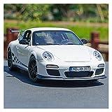 hjj Modelo Coche 1:18 para 911 para GT3 para RS 2010 Casting Diecast Car Modelo de Auto Diecast Vehículo para niños Boys Regalos con Nueva Caja para niños Regalo jianyou