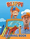 Blippi Coloring Book: A Lovely Coloring Book For Relaxation And Stress Relief. Providing Lots Of Images Of Blippi