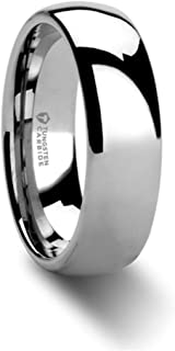 polished tungsten carbide ring
