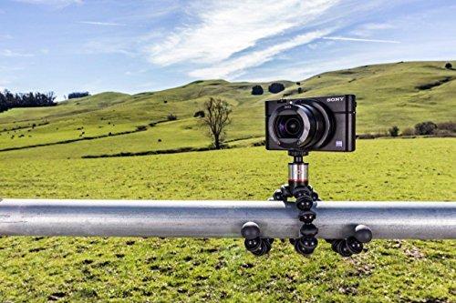 Joby JB01502-BWW GorillaPod 500 Tripod for Camera - Black/Charcoal