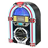 Silva Schneider Jukebox 66 UKW CD-Radio CD, UKW Negro, Color Blanco, Rojo