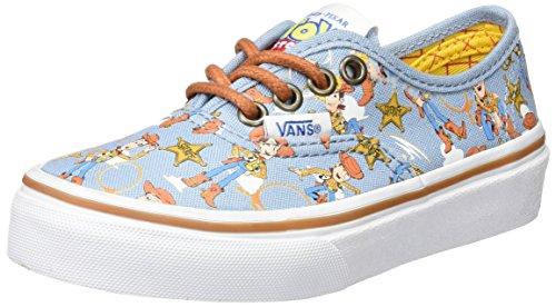 Vans Authentic, Zapatillas Unisex Niños, Multicolor (Toy Story), 35 EU