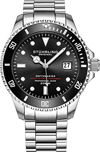 Mens Swiss Automatic Stainless Steel...