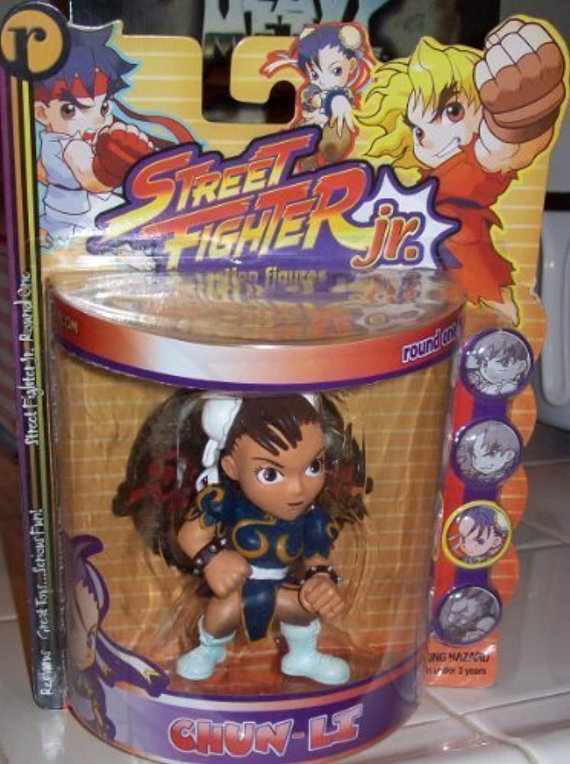 STREET FIGHTER JR. CHUNLI ACTION FIGURE by Street Fighter by Street Fighter